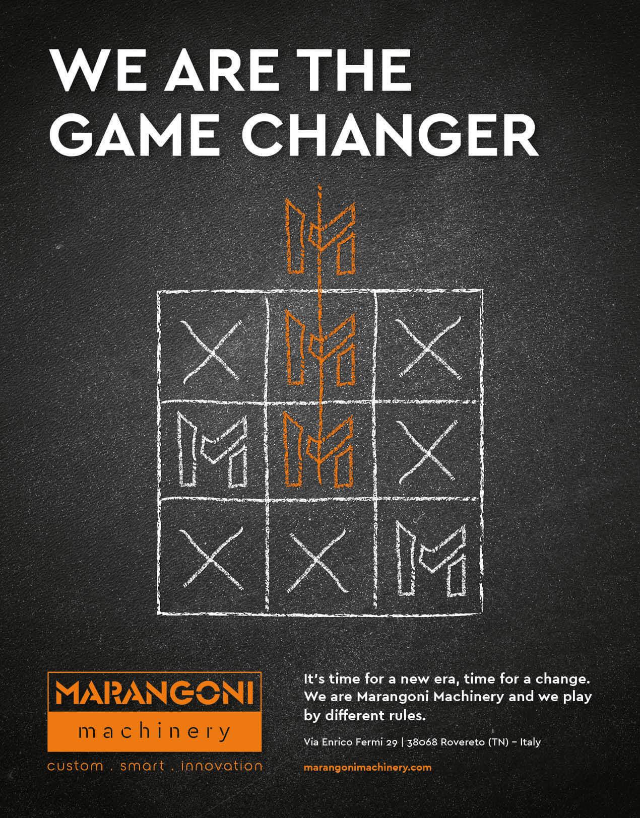 Marangoni Machinery is a game changer